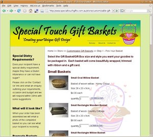 Special Touch Gift Baskets